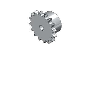 Řetězová kola z nerezové oceli dle DIN 8187